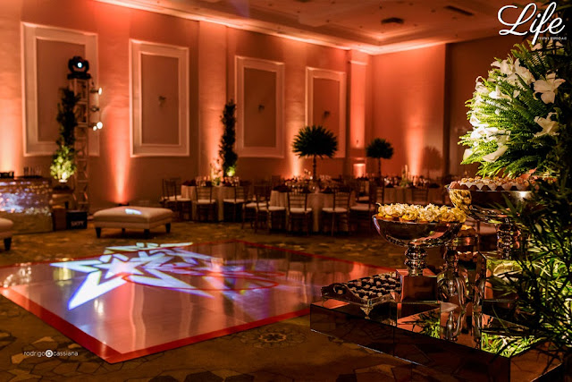 formatura masculina no salão mercosul do hotel sheraton porto alegre com decoração moderna elegante e sofisticada por life eventos especiais