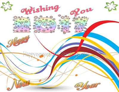 New Year 2017 Colorful Cards, Photo Greetings