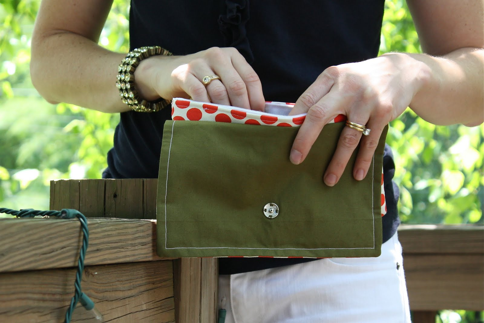 DIY Clutch Bag Free Sewing Pattern & Tutorial