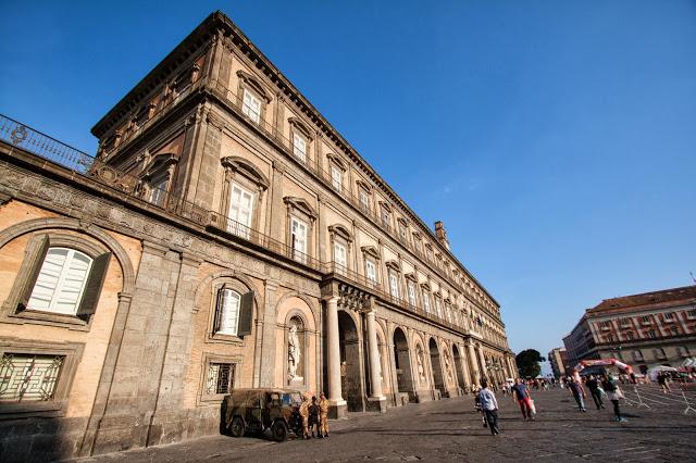 Palazzo reale-Napoli