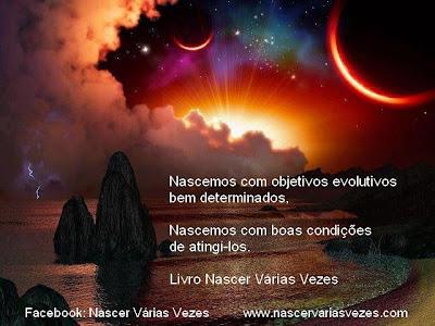 Todo ser humano nasce com objetivos evolutivos. Espiritismo. Reencarnação