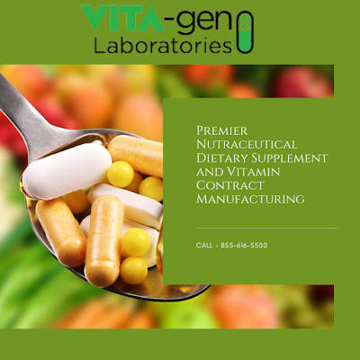 nutritional supplement and nutraceutical manufacturers
