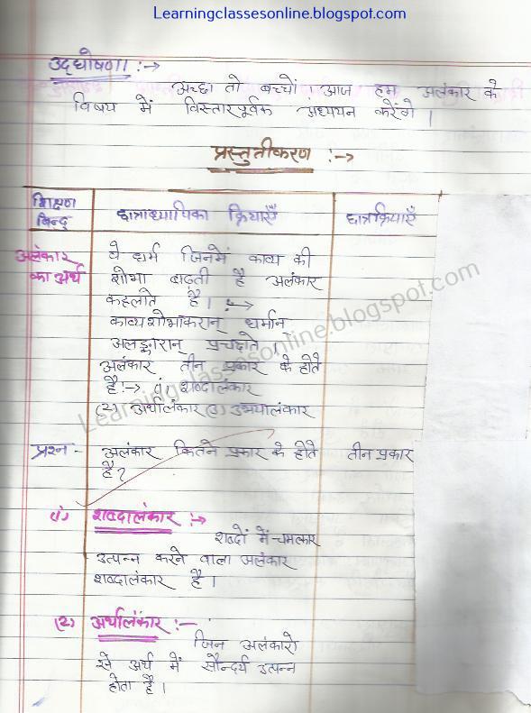sanskrit ka lesson plan