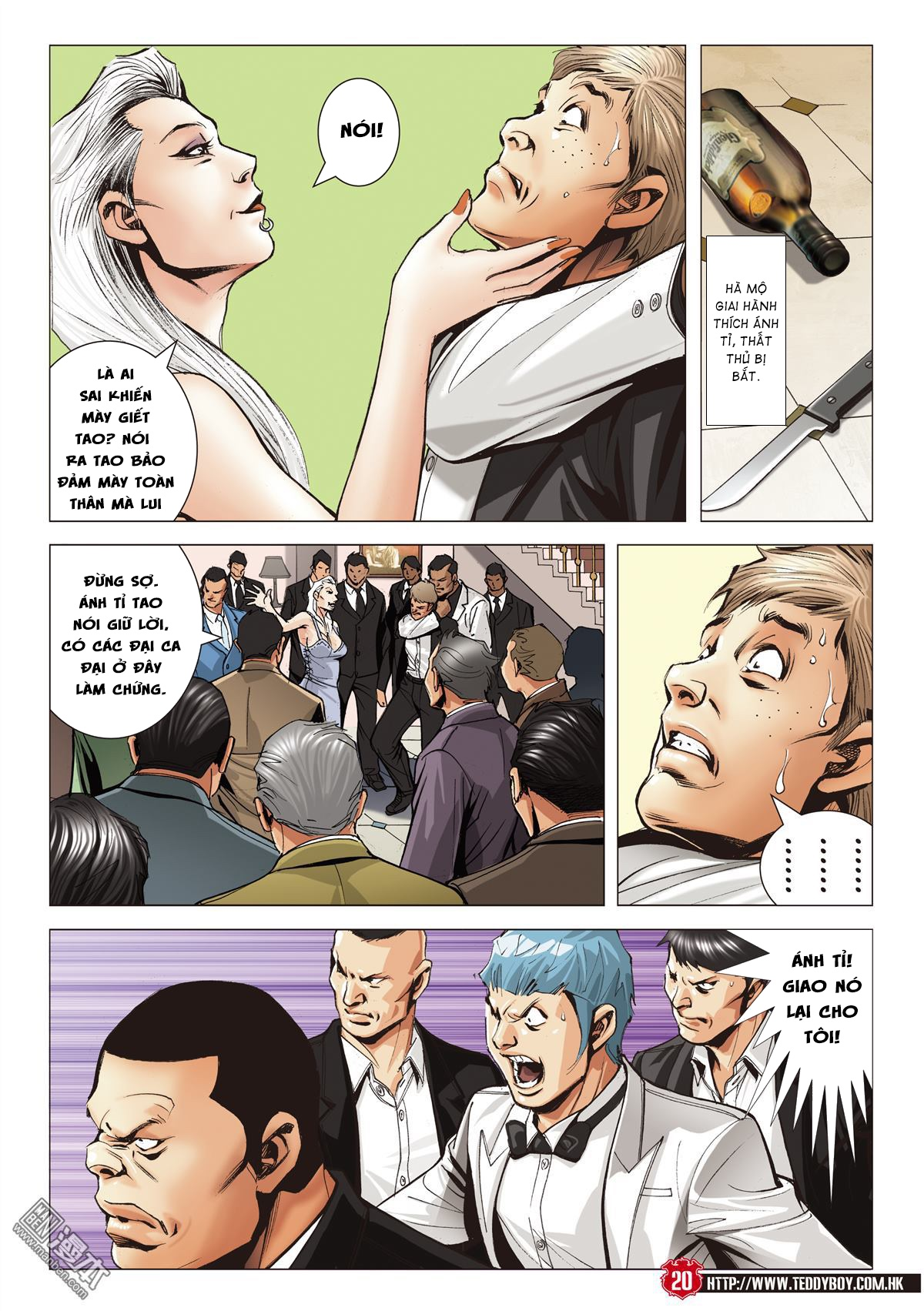 Người Trong Giang Hồ chapter 2067: ánh tỉ làm phản trang 18