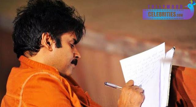 PawanKalyan Busy With Writing Nenu-Manam-Janam Book