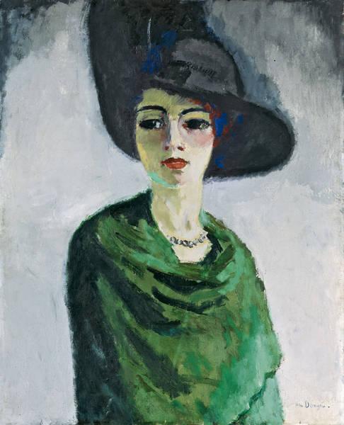 El Hermitage en el museo del Prado  Mujer con sombrero negro ... aef81194673