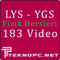 Fizik Eğitim Seti 183 Video - Teknopc.net