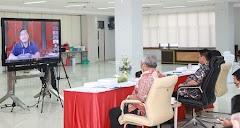 Bahas Penanganan TKI dari Luar Negeri, Gubernur Video Conference dengan Kementerian Terkait