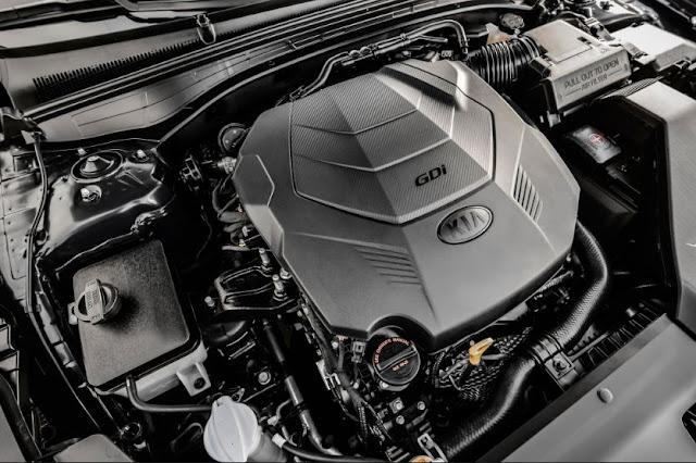 2017 Kia Cadenza Engine