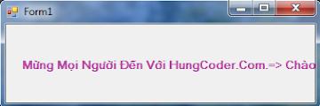 [VB.NET] Hướng dẫn tạo hiệu ứng chữ chạy và thay đổi màu nền trên Label