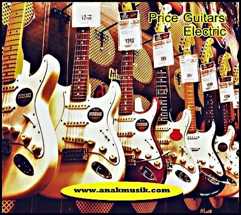 Harga Gitar Elektrik Terbaru 2015