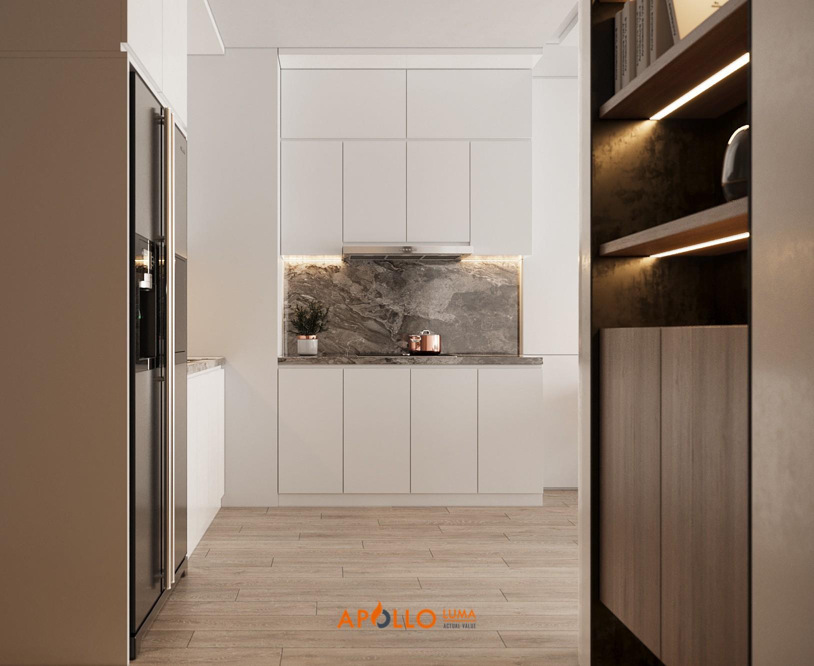 Thiết kế nội thất căn hộ 2PN Vinhomes Symphony phong cách Minimalism