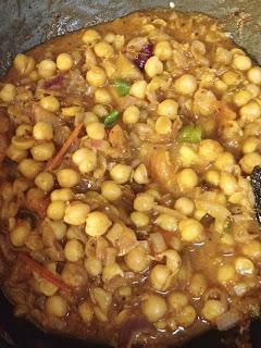 Punjabi Chole,nutritious ,vegan gravy