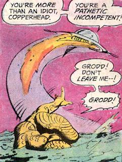 The Secret Society of Super-Villains #1, Grodd abandons Copperhead