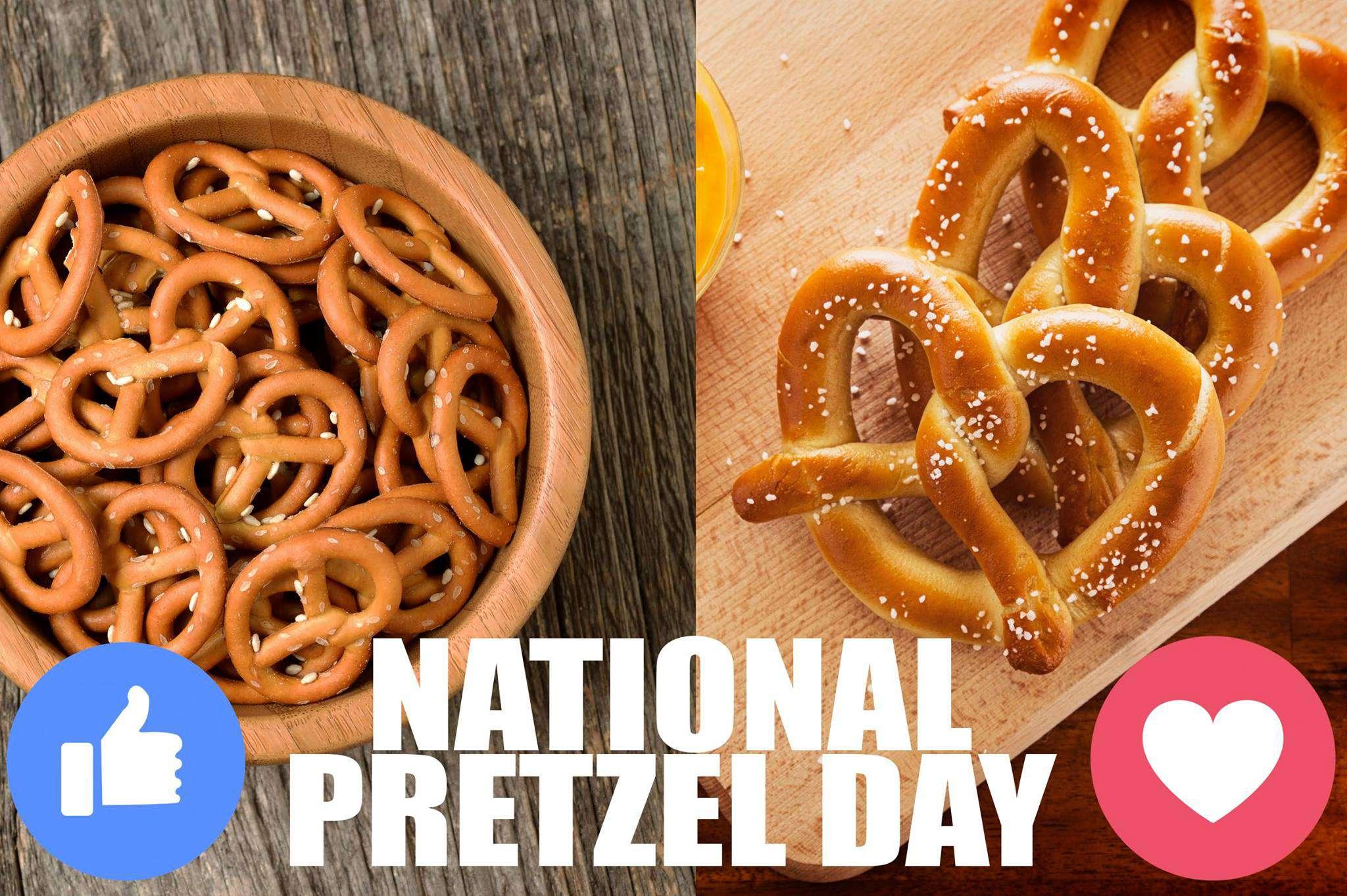 National Pretzel Day Wishes for Whatsapp