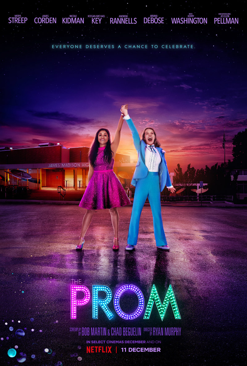 the prom netflix poster
