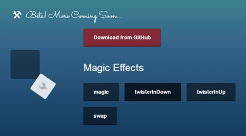 CSS Animations With Impressive Effects – Magic