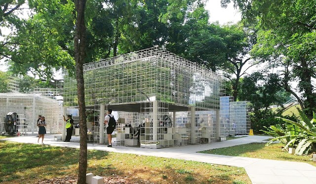 Fort Canning, Singapore's green lungs