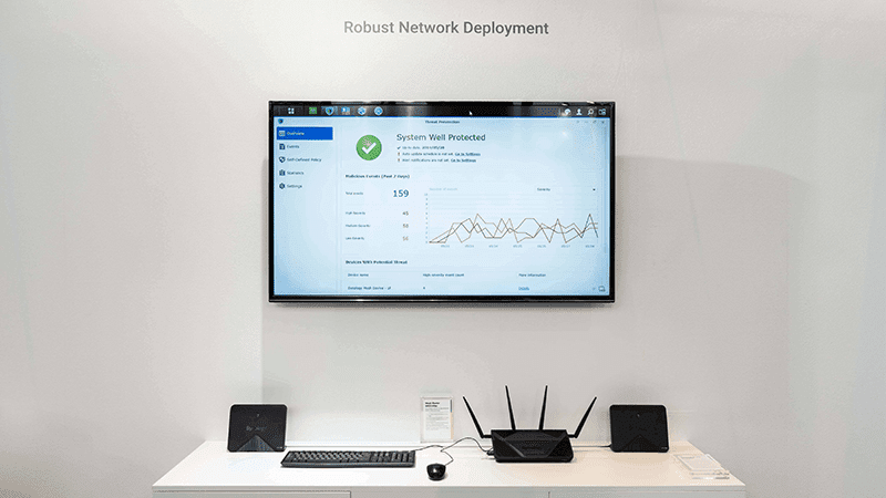 Synology showcase data management solutions for businesses