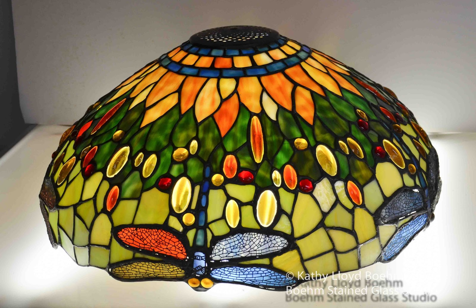 boehm stained glass blog dragonfly stained glass lamp repair. Black Bedroom Furniture Sets. Home Design Ideas