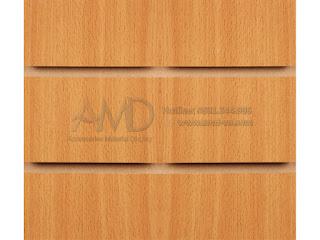 Tấm gỗ Slatwall Melamine Vs. Tấm gỗ Slatwall Veneer - Móc treo phụ kiện tấm gỗ Slatwall - Khóa chặn