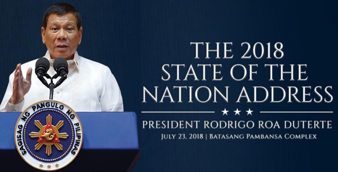 Duterte Sona 2018