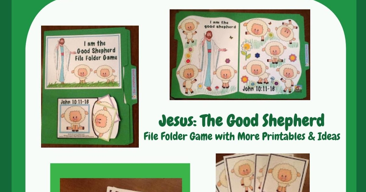 Bible Fun For Kids Jesus The Good Shepherd Ffg Amp More For