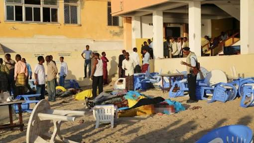 Somalia restaurant bombing