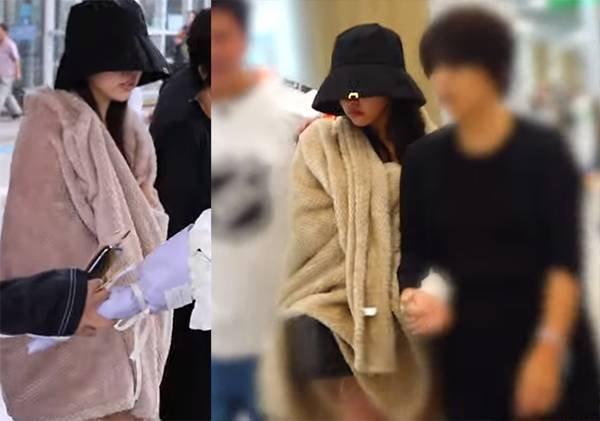 Twice Mina havaalanında ağladı