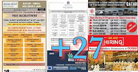 Gulf Times Classifieds PDF Download Jul17, Daily Overseas Jobs Epaper