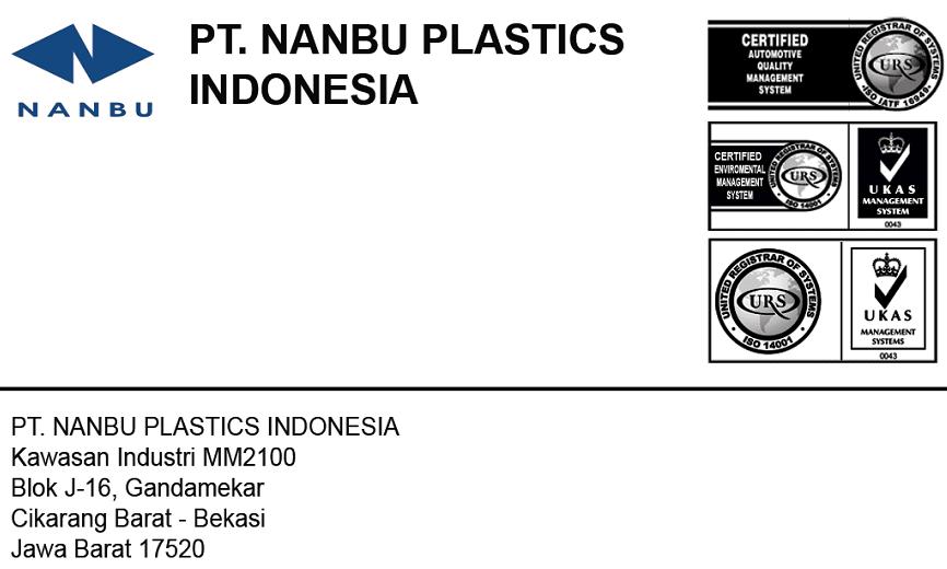 Lowongan Kerja Via Email Kawasan MM2100 PT.Nanbu Plastics Indonesia