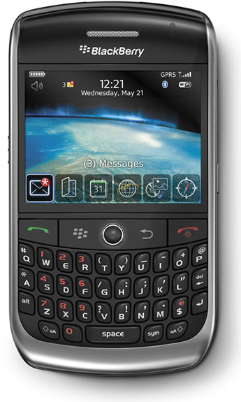 Blackberry Application Track Ball Color 17