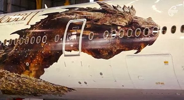 Smaug aviones Air New Zealand