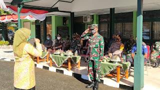 Kapolres Pangkep hadiri Apel Gelar Pasukan Penanganan Covid-19 di Makodim
