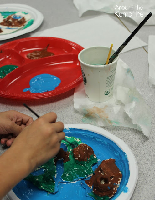Landform Islands~ A hands-on writing project.