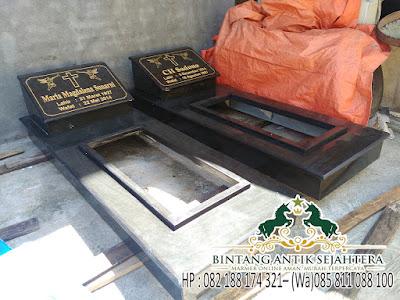 Contoh Model Kuburan Kristen, Model Makam Kristen Granit