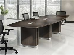 powered conference table - global zira series
