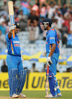 MS Dhoni 113* - India vs Pakistan 1st ODI 2012 Highlights