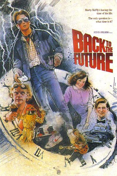 Regreso al futuro Poster Drew Struzan 4