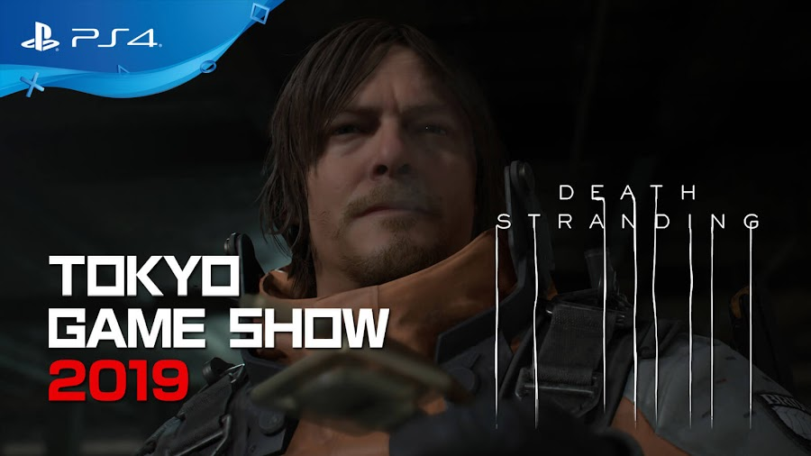 death stranding tokyo game show 2019 gameplay demo ps4 norman reedus character sam bridges