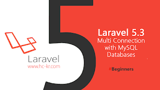 Create Multi Databases Connection in laravel 5.3