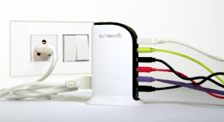 tnext launches TC-01 Multiport Smart USB Charger to End Your Charging Headaches