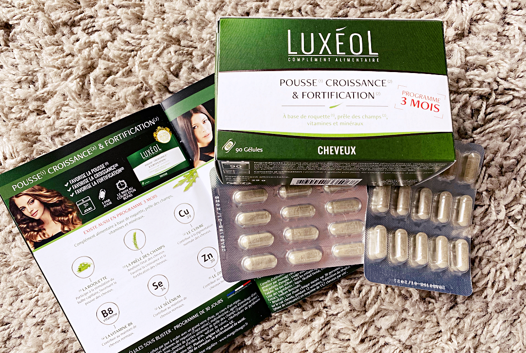 luxeol complements alimentaire pousse cheveux