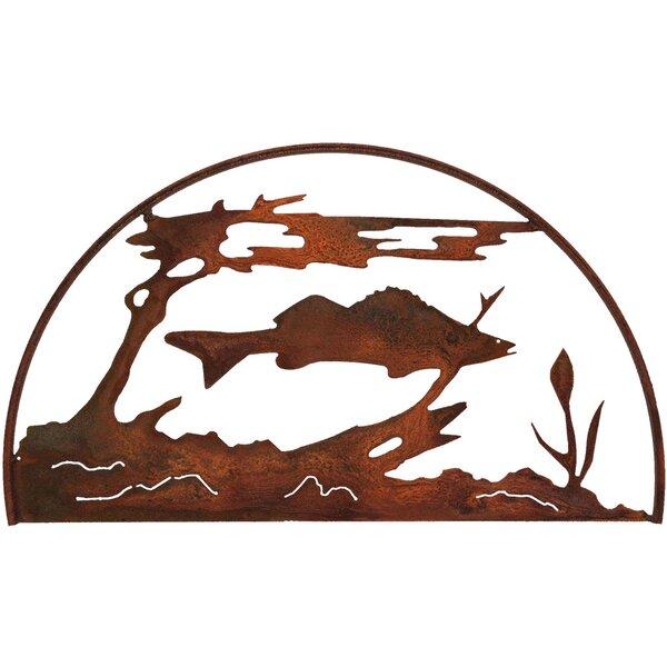 Fish Hoop Wall Decor