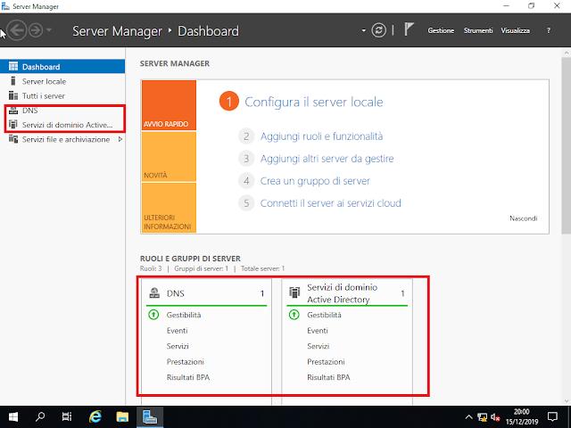 Server Manager, nuovi ruoli