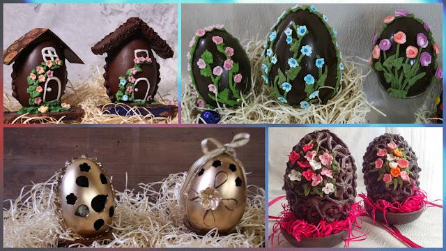 Elaboración Y Decoracion De Huevos Chocolate