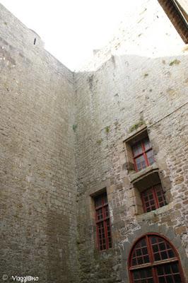 Esterno del Castello che ospita il Museo di Saint Malo