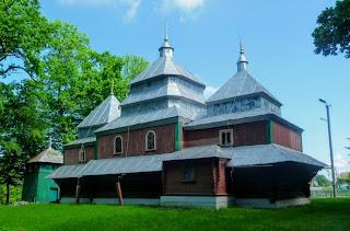 Подгорцы, Стрыйский р-н, Львовская обл. Церковь сошествия Святого Духа 18210г.
