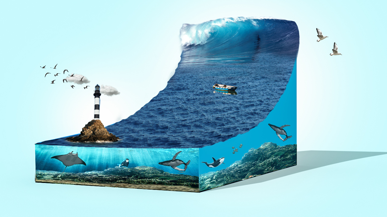 3d sea wave photoshop 3d effect baponcreationz in this tutorial you learn how to use 3d effect and how to make 3d peace of sea and also know more about 3d layer and 3d adjustment in photoshop cc baditri Image collections