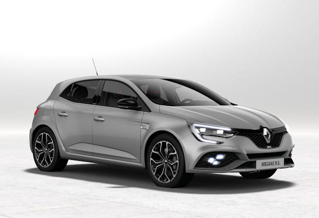 Renault m gane rs 2018 couleurs colors - Code couleur gris ...